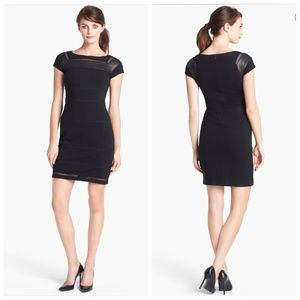 DVF Novi Knit Dress size 6 little black dress
